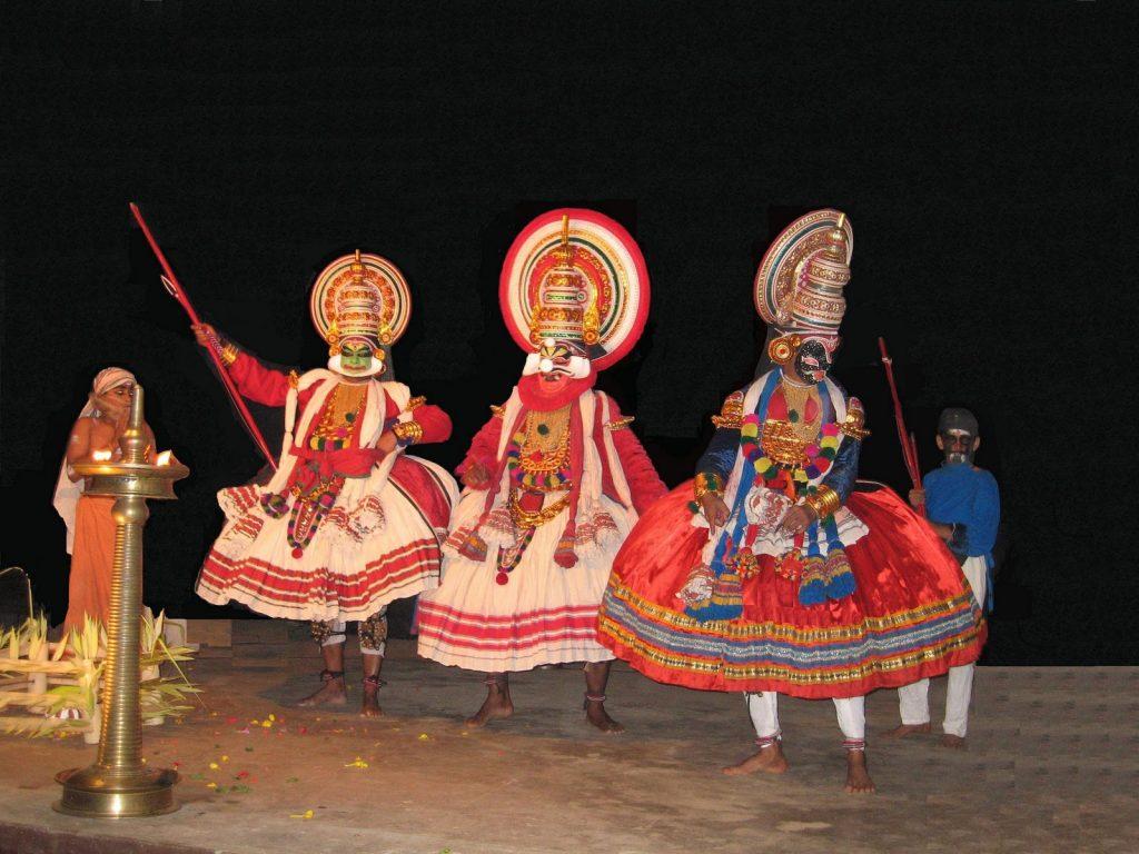 Kerala Kathakali Dance