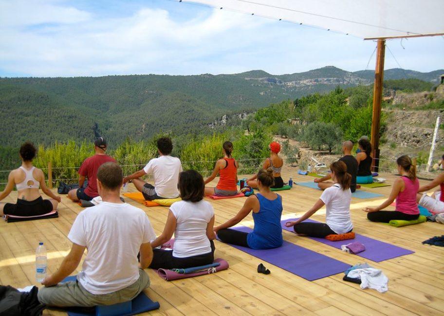Yoga y relajación en Rishikesh