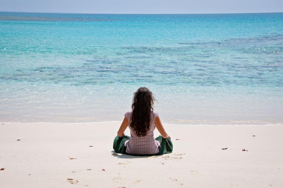 Vacaciones de las playas de Andaman
