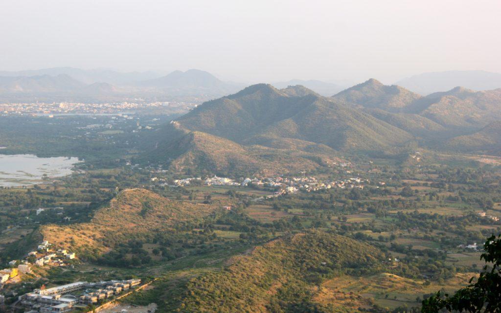 Aravali Hills Rajasthan India