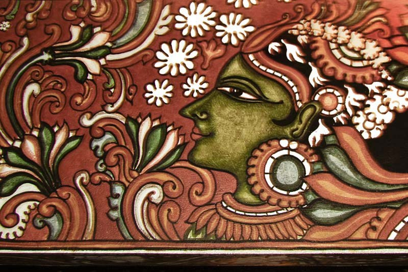 Pinturas de la pintura mural de Kerala