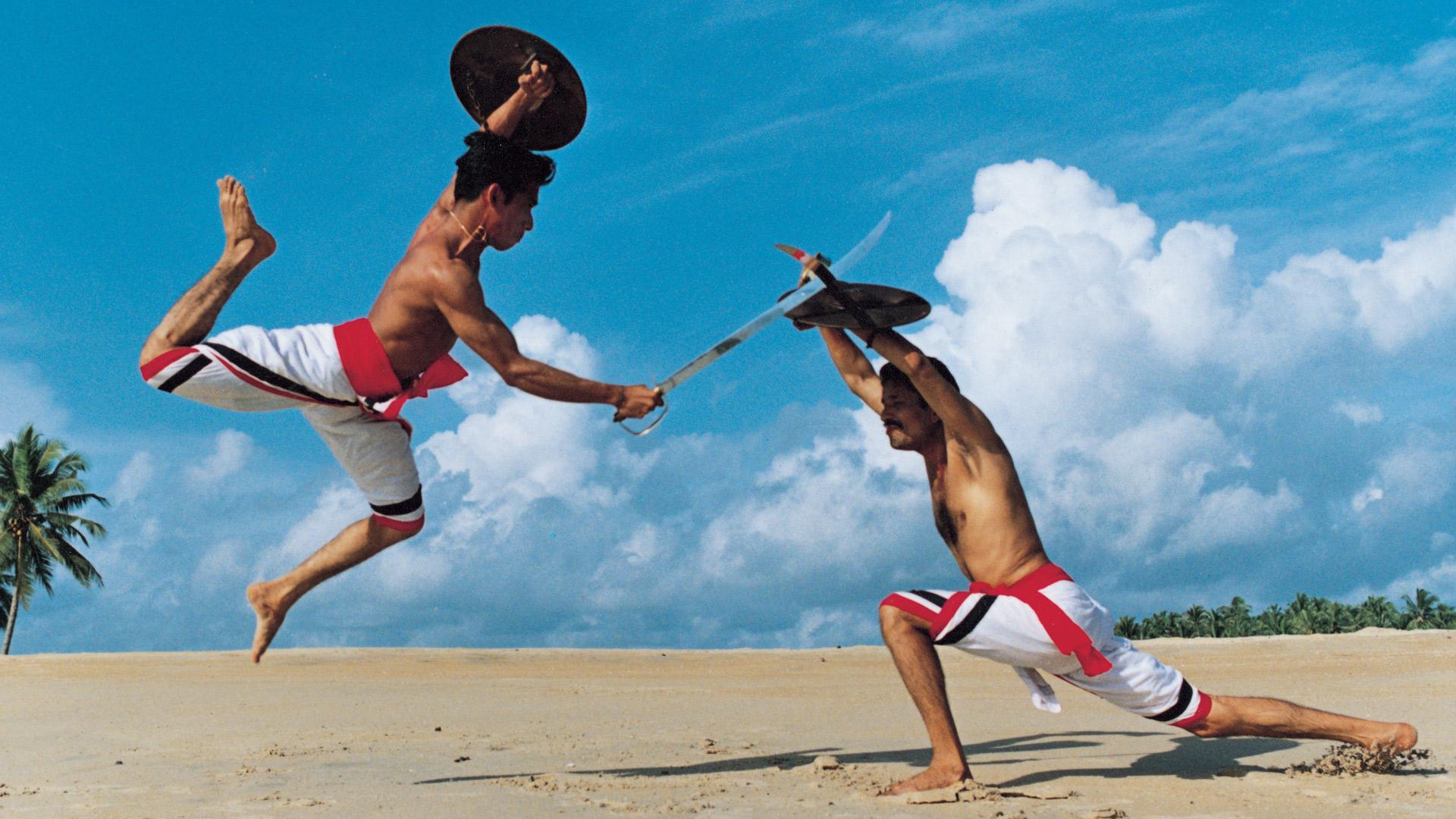 Kerala las antiguas artes marciales