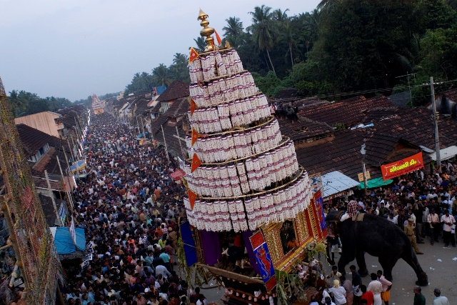 Festival del carro de Kalpathi