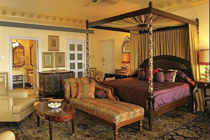 Accomodation en Palacio del Lago Taj Udaipur