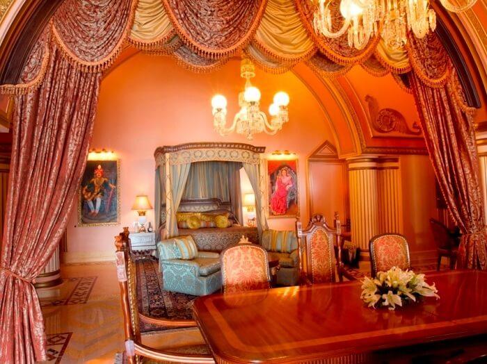 Magnífica suite presidencial