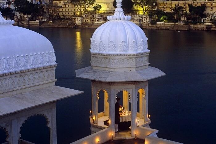 Palacio del Lago Taj Udaipur