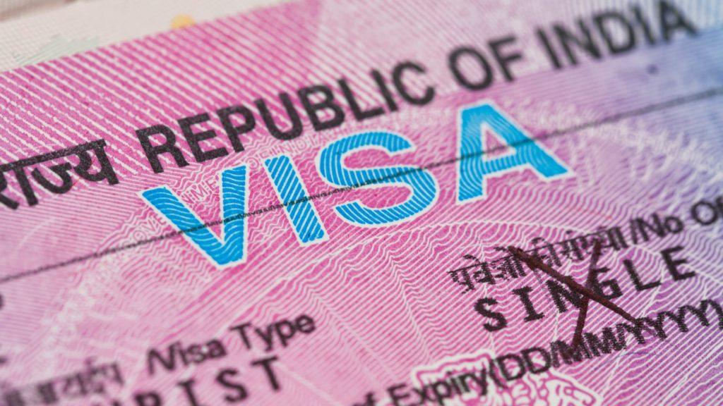 Obtén la visa India