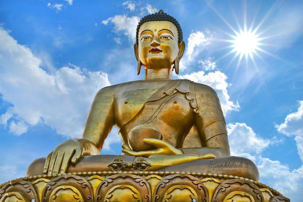Estatuas de SeñBuddha Bután