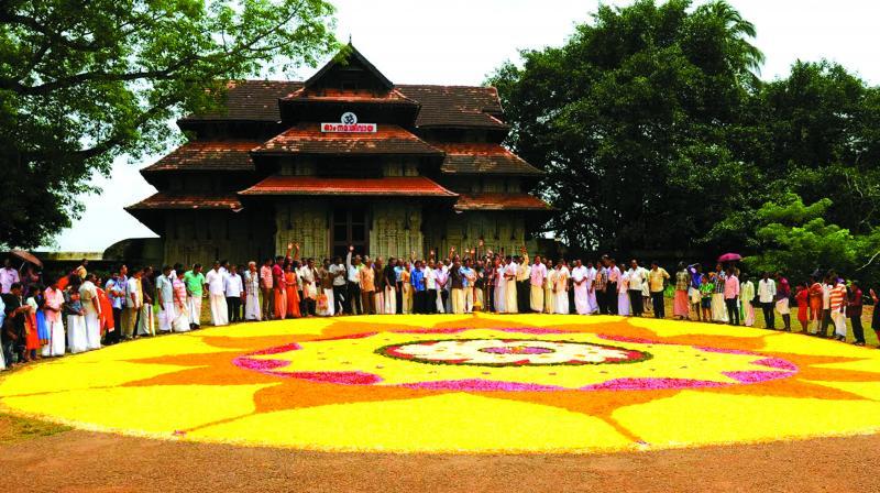 Templo Vadakkunnathan Kerala