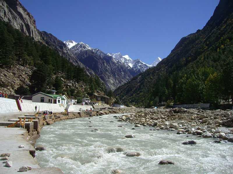 Glacier Gangotri