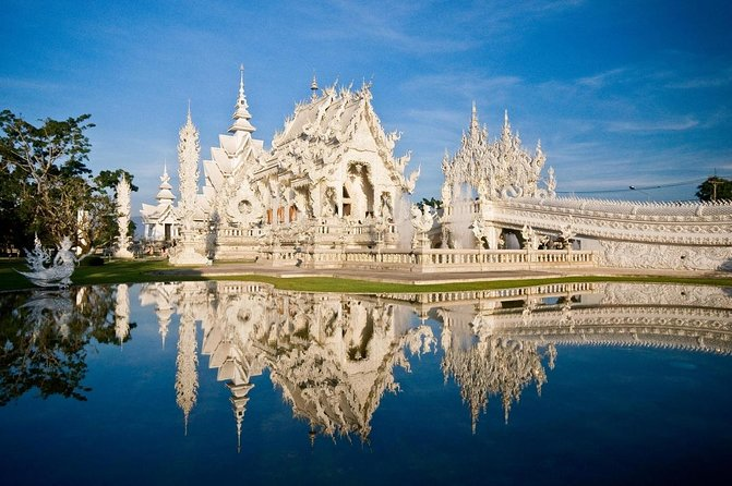 Wat Rong Khun, White Temple of Chiang Rai